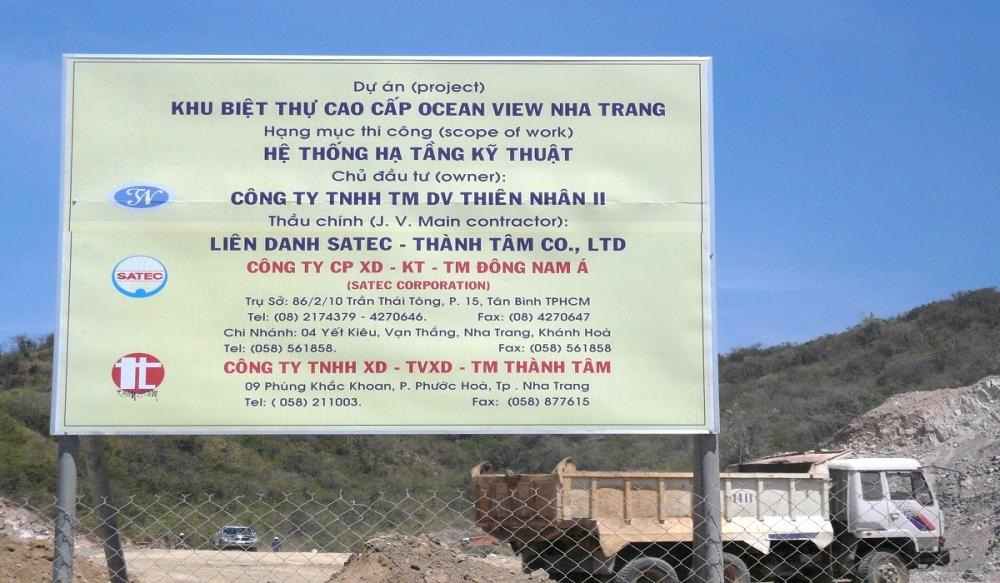 KHU BIỆT THỰ CAO CẤP OCEAN VIEW - NHA TRANG